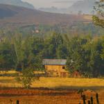 Burmese Rural Landscape - Inle Lake, Burma