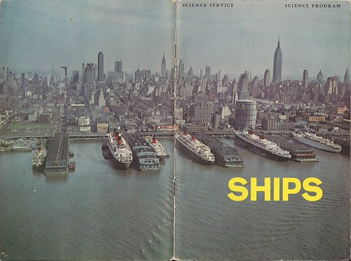 1963 Ships Brochure (front and back cover)