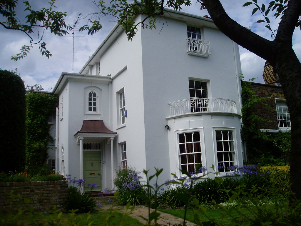 Georgian house, Keats' Grove, Hampstead, London