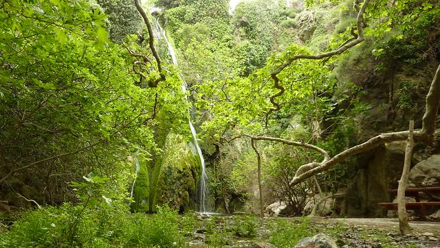 O καταράκτης του Ρίχτη - Richti waterfall