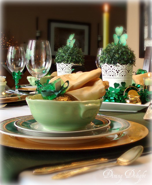 Dining Delight St Patrick S Day Table For Six