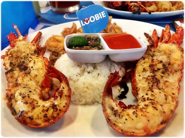 Whole Lobster Platter