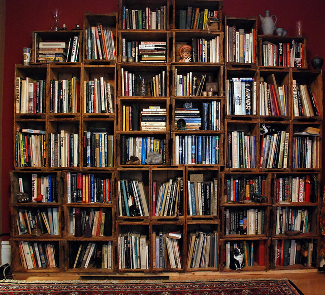 Sitting Room Bookcase Art Photography Beaux Arts
