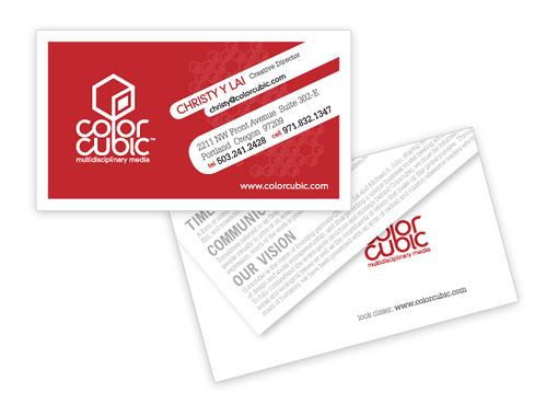 Colorcubic™ business card
