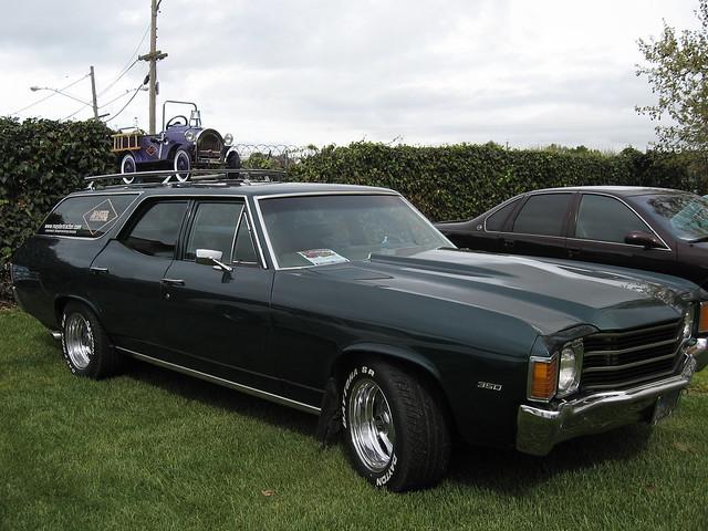 1972 Chevrolet Chevelle Malibu Wagon | Flickr - Photo Sharing!