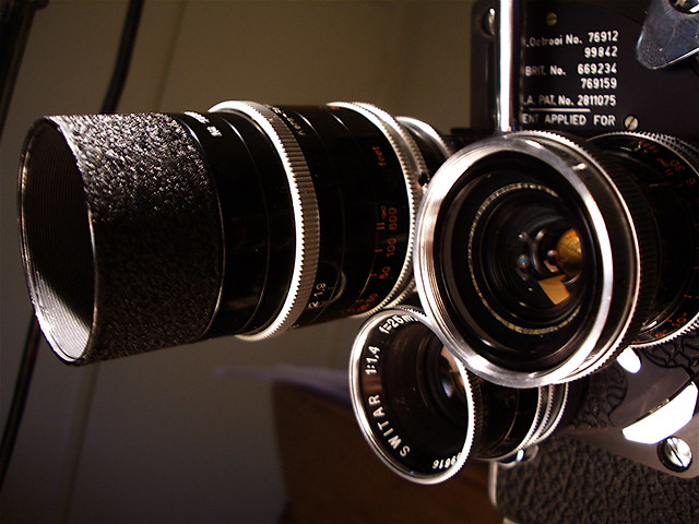 Camera Lenses - Flickr CC Tim Mcniff