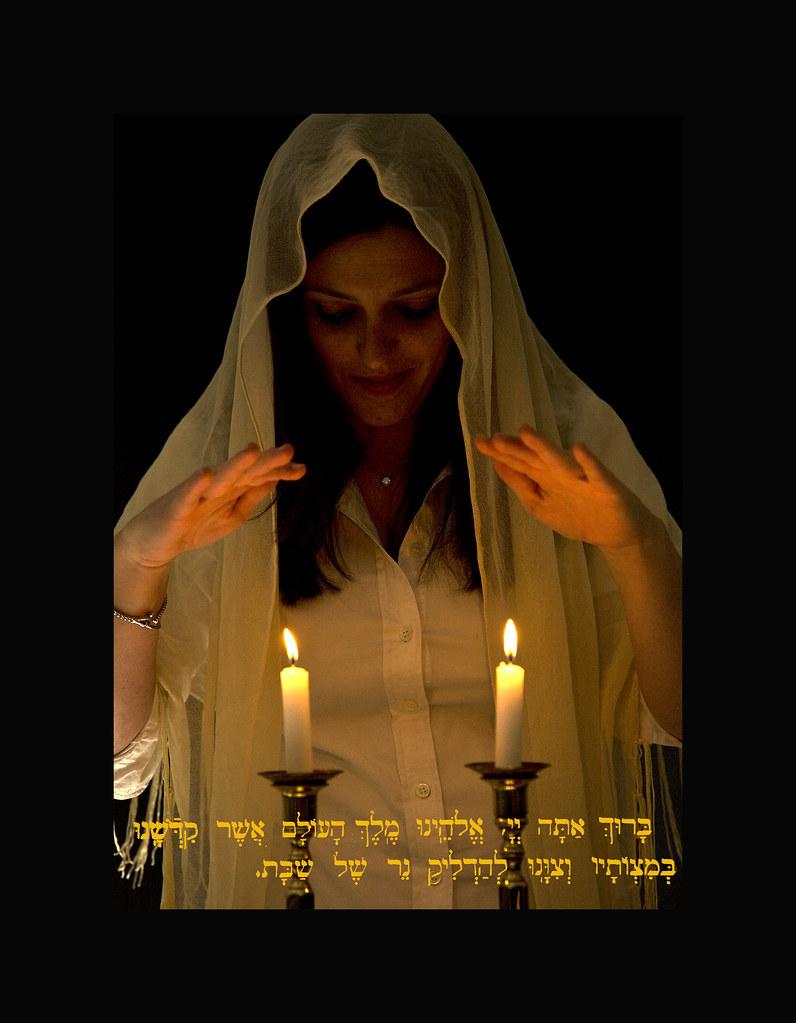 6 shabbat candles flickr photo sharing