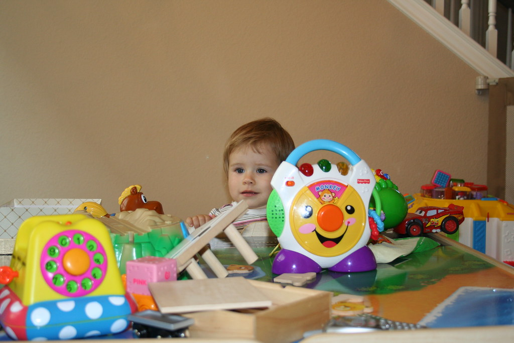 In the Playroom with Bella