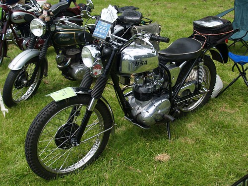 BSA B40 350cc Motorcycles -1967
