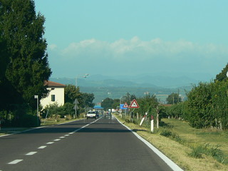 Driving to Faenza