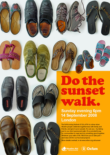 The Sunset Walk poster - 無料写真検索fotoq