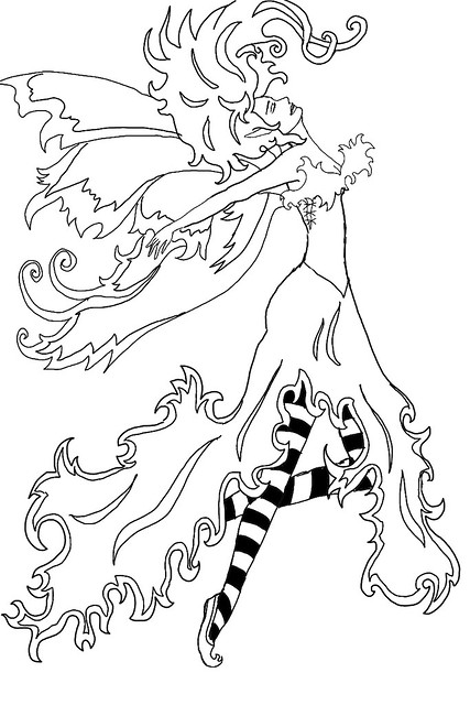 amy brown coloring pages free - photo#27