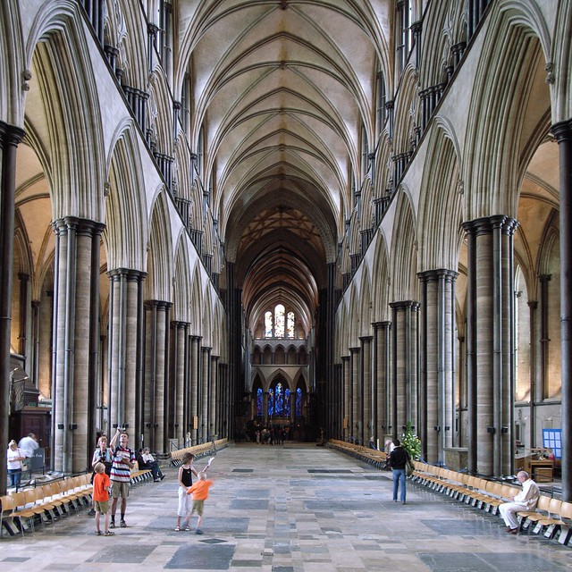 Salisbury Cathedral | Salisbury Cathedral - the nave | By ...