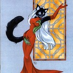 Cover to Furrlough #125 by Diana Harlan-Stein, published by Radio Comix, 2003 - furrlough-124