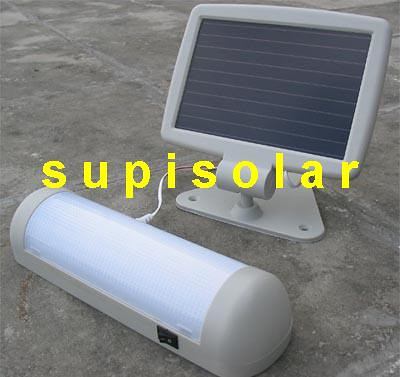 solar leuchte camping lampe komplett anlage solarpanel akku solarmodul batterie ebay. Black Bedroom Furniture Sets. Home Design Ideas