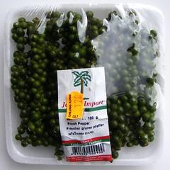 Verse, groene peper
