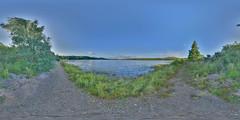LochInsh: Beach 2 Loch Insh Scotland Equirectangular
