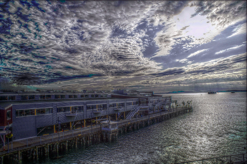 Seattle Pier HDR