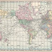 1911 World Map