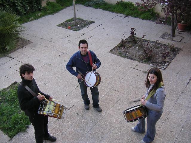 tambores en Tobarra