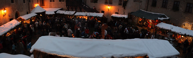 Loket Castle - Christmas fair