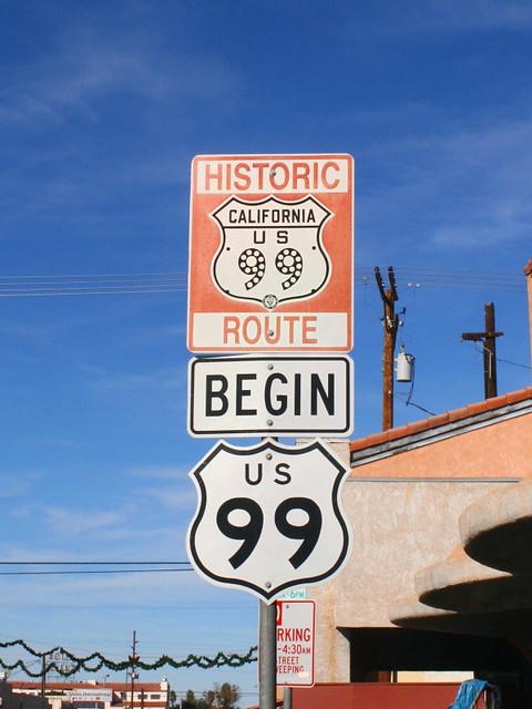Begin US Route 99 from Flickr via Wylio
