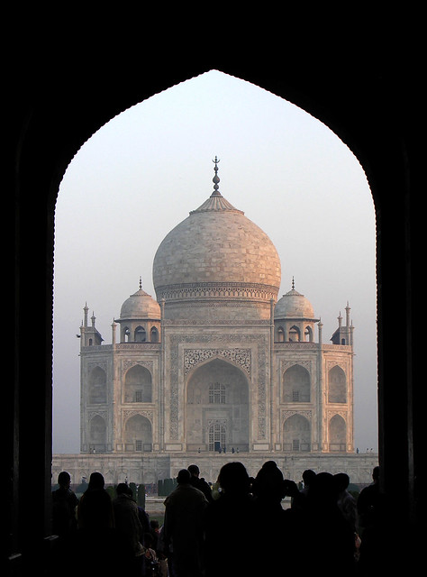 Taj Mahal through the Main Gateway