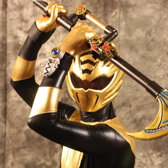 Saboten-Con Saturday Portraits - Gold Ranger from Power ...