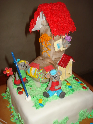 Tortas decoradas infantiles rosario mamapastelera a for Tortas decoradas infantiles