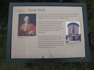 Kuva Tomb of David Hume, philosopher. scotland edinburgh caltonhill humewalk
