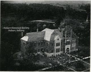 HobartHighSchoolaerialca1910