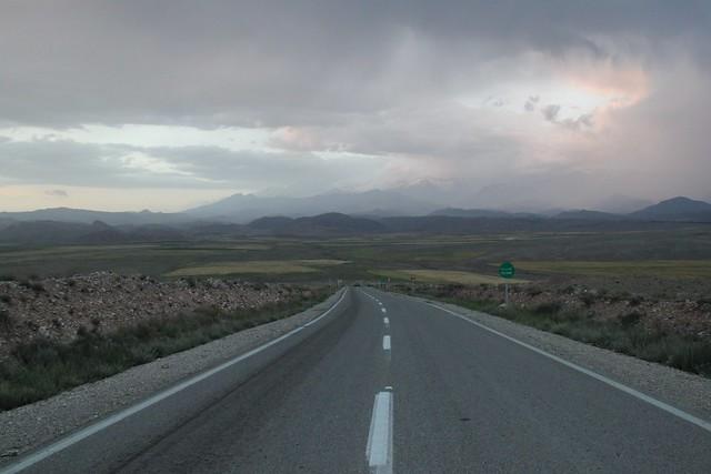 Melancholic road.