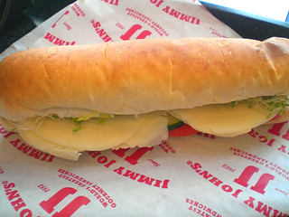 Jimmy John's vegetarian sub