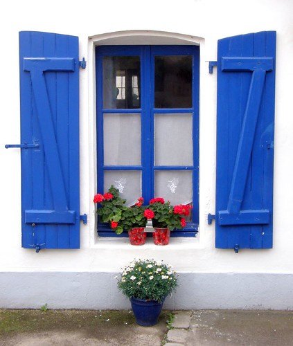 Window, Ile d'Oleron.