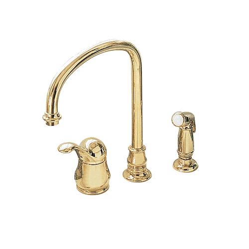 American Standard Jasmine Polished Brass Hi Flow Kitchen