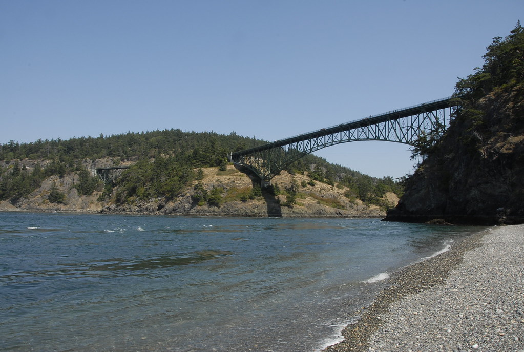 Deception Pass Bridge.