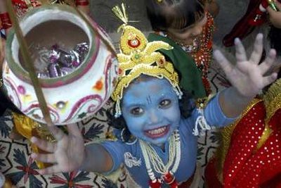 Krishna In Fancy Dress http://www.flickr.com/photos/johnhanscom/2826544748/