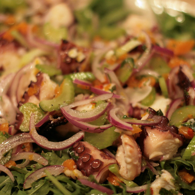 octopus salad | Flickr - Photo Sharing!