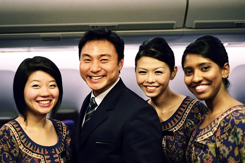 Singapore Airlines SQ1 Cabin Crew