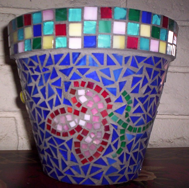 Amazing Mosaic Pots A Gallery On Flickr