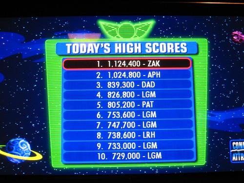 Astro Blasters Top Ten