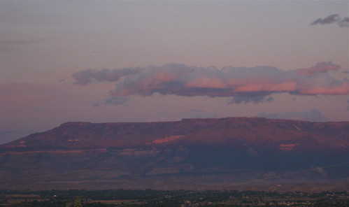 sunset colorado grandjunction grandmesa mesacounty flowingpark