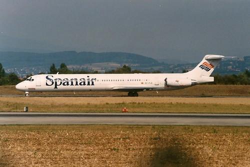 SPANAIR DC9-82 EC-FJQ
