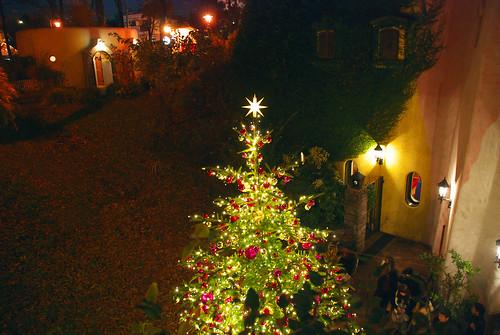ジブリ美術館のクリスマスツリー 2