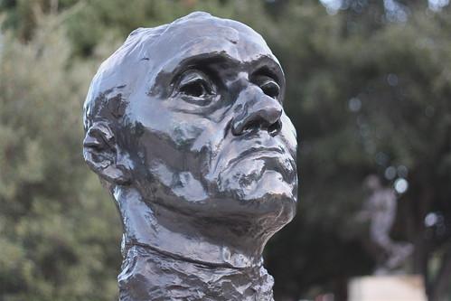 Portrait of a Rodin Sculpture