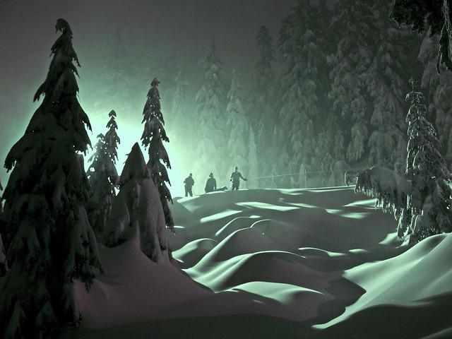 Three Snow Men