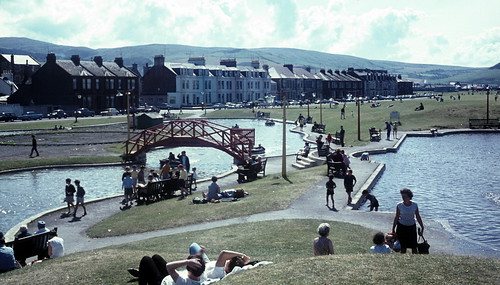 Boating lake, Girvan.