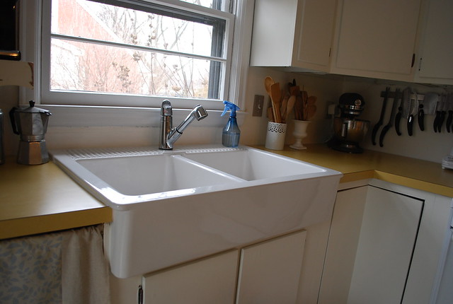 Apron Sink Ikea : Apron front sink from Ikea Flickr - Photo Sharing!
