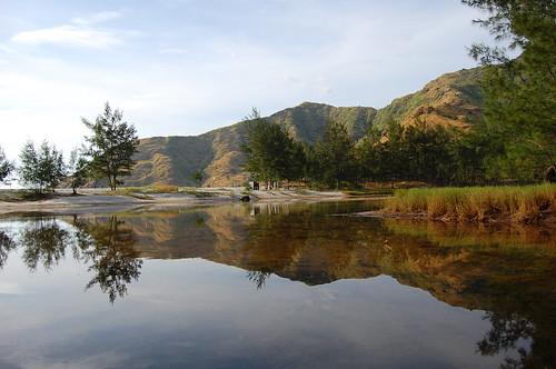 reflection sanantonio landscape fun nikon philippines swamp pinetrees zambales unpopular anawangin d40 sooc frborj