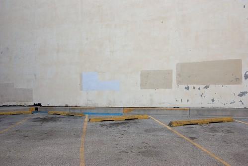 blue yellow gray baltimore pavementmarkings pentaxk10d erasedgraffiti haphazartempty